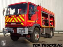 camião Iveco 95 E21 feuerwehr - fire brigade - brandweer -3500 ltr. water tank- pomp - Lier, Wich, Winde