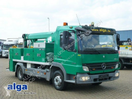 Camion Mercedes 1018 Atego, T1012/12 m. Arbeitshöhe/Klima! nacelle occasion