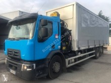 Renault Gamme D 430.26 DTI 11 truck used tautliner