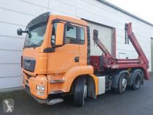 Kamión vozidlo s hákovým nosičom kontajnerov MAN TGS 26.360 BLS/6x2/4 26.360 BLS/6x2/4, Lenk-Liftachse, Meiller AK 16 NT