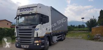 Camión Scania R lonas deslizantes (PLFD) usado