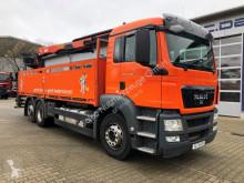 Camion MAN TGS 26.400 6x2 Pritsche Kran Palfinger PK 21001L plateau occasion