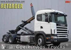 Camion Scania L 124L440 transport containere second-hand