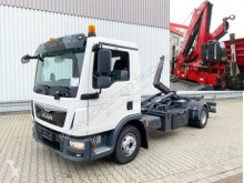 Camion MAN TGL 12.220 4x2 BL 12.220 4x2 BL City-Abroller, Euro 6, Kran Fassi F95A21 polybenne occasion