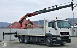 камион MAN TGS 26.360 Pritsche 6,80m+ Kran/FUNKTopzustand!