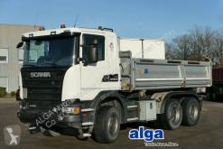 Ciężarówka wywrotka trójstronny wyładunek używana Scania G 450 6x4/Meiller/Bordmatik/AHK/Reta