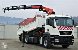 MAN TGS 26.400 Kipper 5.60m + Kran/FUNK !!! truck