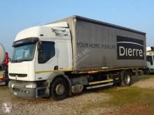 Vrachtwagen Renault Midlum 220 tweedehands met huifzeil