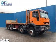 Camión Iveco 340E37 Fassi crane, Remote, Steel suspension, Manual, Borden, caja abierta usado