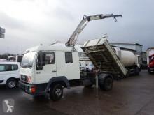 MAN 8.163 DoKa Kipper Ladekran Fassi F50 AHK SFZ truck used tipper
