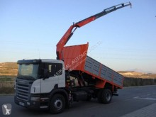 Scania P 310 truck used tipper
