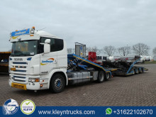 Scania G 480 trailer truck used car carrier