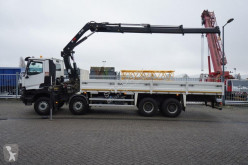 Camion plateau Renault K 460 OPEN BOX WITH HIAB 288 EP-3 HIDUO CRANE 65.000KM