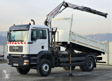 camion MAN TG 310 A Kipper 4,50m+Bordmatic/Kran*4x2!
