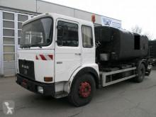 Camion citerne occasion MAN 19 281 BREINING Spritzrampe Asphalt Bitumen Tank