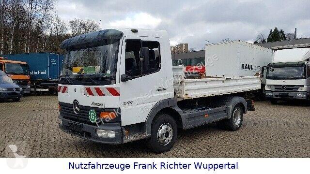 View images Mercedes 815 Atego, 3 S-Meiller Kipper, Guter Zustand !! truck