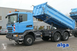Scania G400/Allrad 6x6/Meiller/Klima truck used three-way side tipper