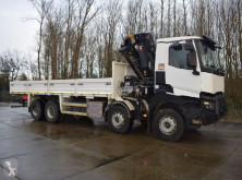 camion Renault K460 TRUCK MOUNTED CRANE AND FLATBED WITH TWISTLOCKS
