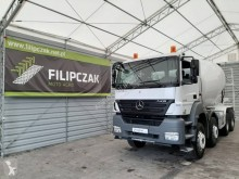 Mercedes Axor 3236 truck used concrete mixer