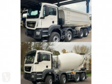 Camión MAN TGS 41.430 8x4 WECHSELSYSTEM KIPPER+MISCHER hormigón cuba / Mezclador nuevo