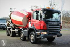 Camion béton toupie / Malaxeur occasion Scania P380 8X4 9m3 Trommel