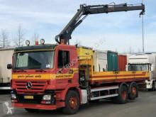 camion Mercedes ACTROS 2532 HIAB 12T/M KRAAN / BDF OPEN LAADBAK