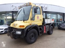 Unimog U300 truck used three-way side tipper