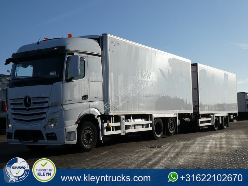 View images Mercedes Actros 2643 trailer truck