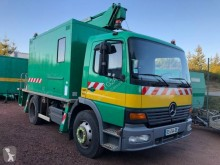 Mercedes telescopic articulated aerial platform truck Atego 1217