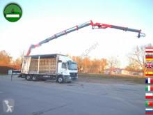 camion Mercedes ACTROS 2536 L 6x2 Tirre Kran Euro 222 19,6m Joys
