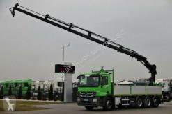 camião Mercedes ACTROS 3236 /BOX +CRANE HIAB 211 / RADIO
