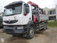 Renault Kerax 410 DXI truck used two-way side tipper