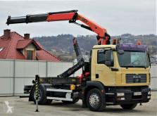 camion MAN TGM 18.280 Abrollkipper 4,00m + Kran/FUNK !!