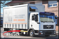 camion MAN MAN 7.150 TGL, Koffer + Plane, 4520 kg NL TÜV 01/21