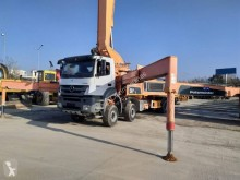 Mercedes Axor 4140 truck used concrete pump truck