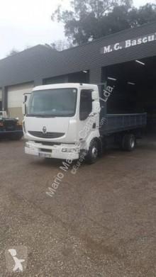 Camión volquete trilateral Renault Midlum