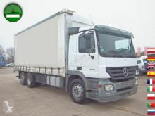 Camion Mercedes ACTROS 2536 DPF AHK Mitnahmestapler Halterung cassone centinato usato