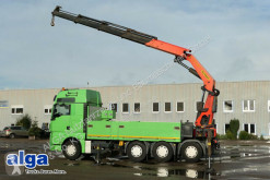 MAN plató teherautó 35.540 BL TGX, Palfinger PK50002, Funk, 4x Hydr.