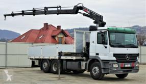 camion Mercedes ACTROS 2541 Pritsche 6,20m + Kran/FUNK