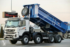 Camion benne Volvo FMX 420 / 8X4 / TIPPER / EURO 5/ LOAD: 18 000 KG