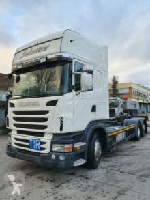 Kamyon şasi Scania R 420 EEV Topline BDF Standard LBW Intarder Klim