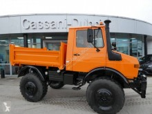 Unimog U1600 truck used three-way side tipper