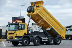 camión Scania P 380 / 8X4 /TIPPER / SKIBICKI / MANUAL /