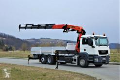 camião MAN TGS 26.360 Pritsche 7,00m+ Kran/FUNK*Topzustand!