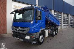 Mercedes Actros 2636 truck used three-way side tipper