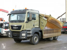 camión MAN TG-S 26.480 6x4 BB 3-Achs Kipper Intarder, Bordm