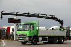 ciężarówka Mercedes ACTROS 2641 / 6x4 /BOX+CRANE HIAB 166 / RADIO