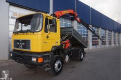 Kamión korba MAN 19 FA Palfinger 12 ton/meter laadkraan