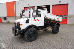 Camion Mercedes UNIMOG U12 / MANUAL / GOOD CONDITION / / KIPPER / 1988 benne occasion