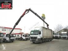 camion Mercedes Actros 2536 L 6x2 Pritsche Heckkran Funk+Jib 22,